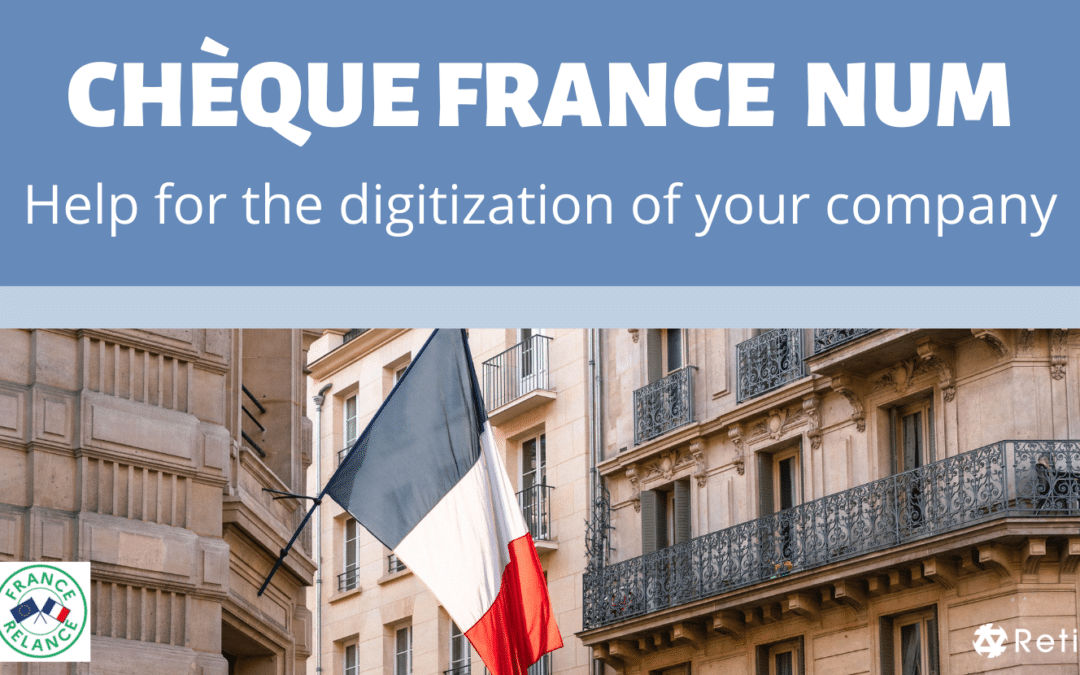 Cheque France Num Help for the digitization of french companies